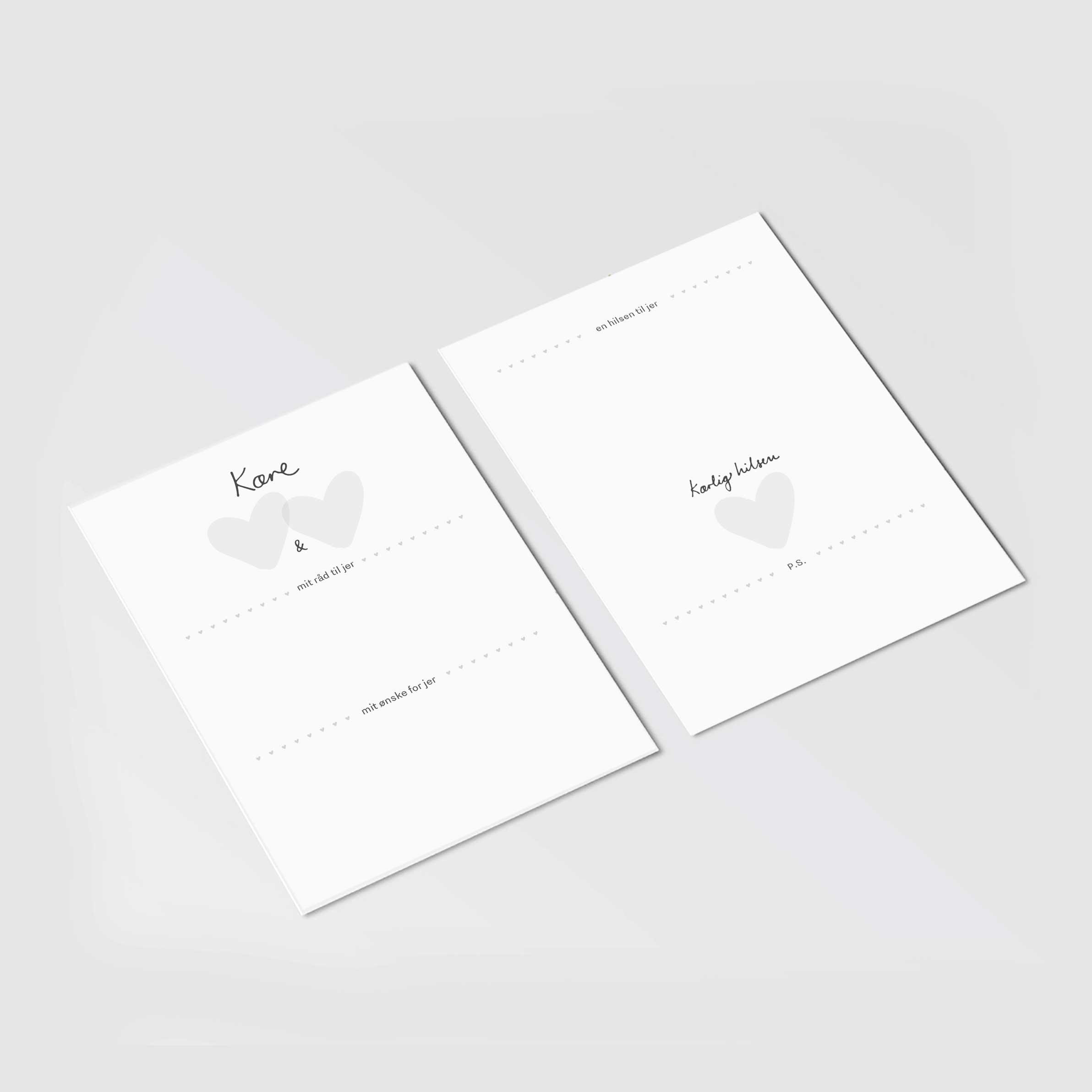 Image of Mindekort - til brudeparret (print-selv PDF)