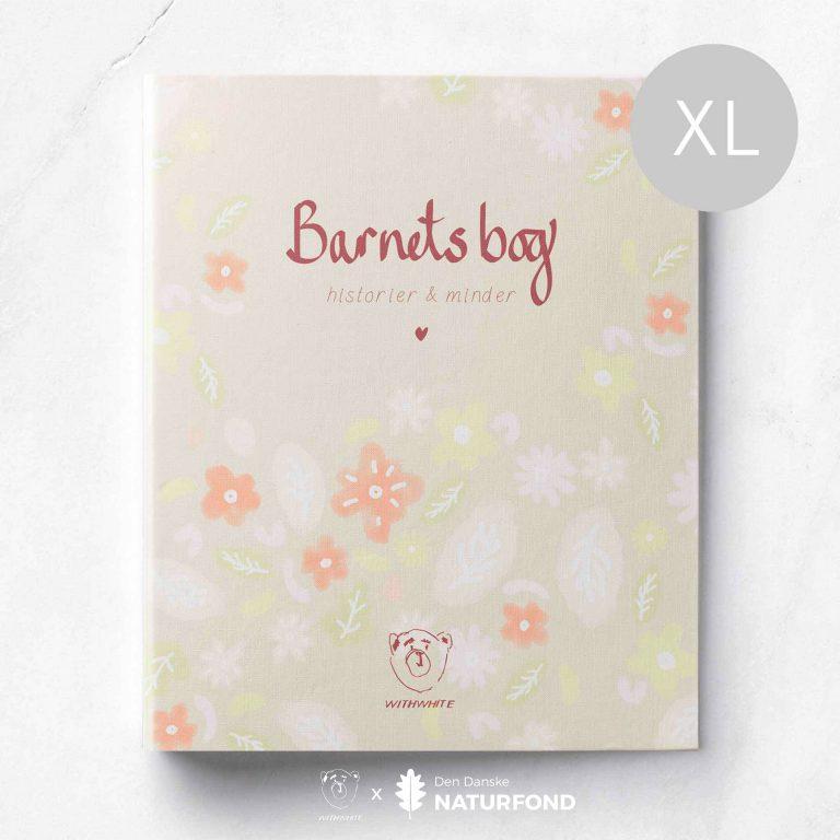 Barnets Bog Ddnf Rosa Cover Xl Logo