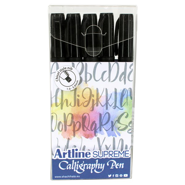 Art024502 Kalligrafipenne Artline 5stk