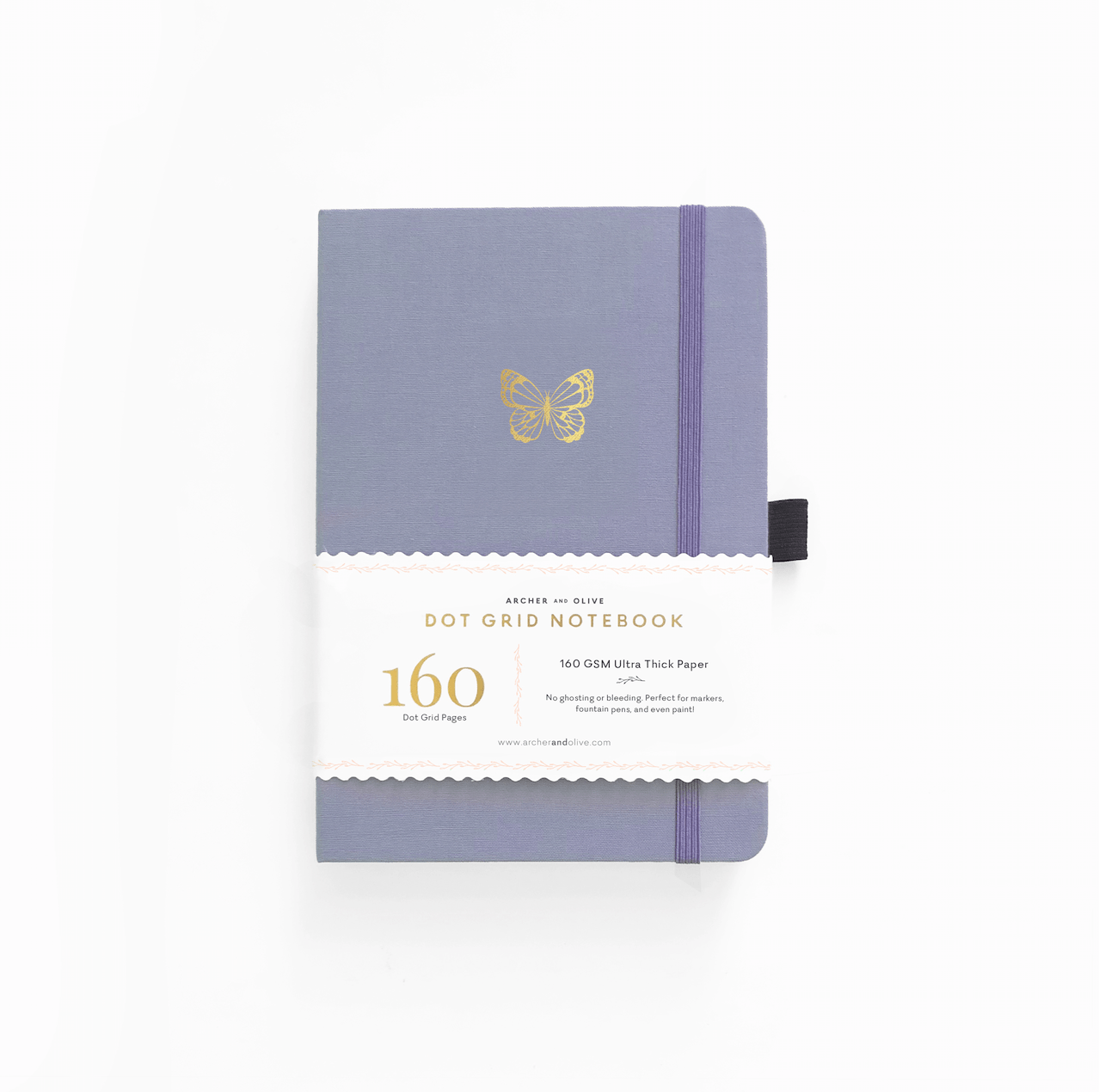 Archer & Olive - A5 Notebook - Butterfly Wings