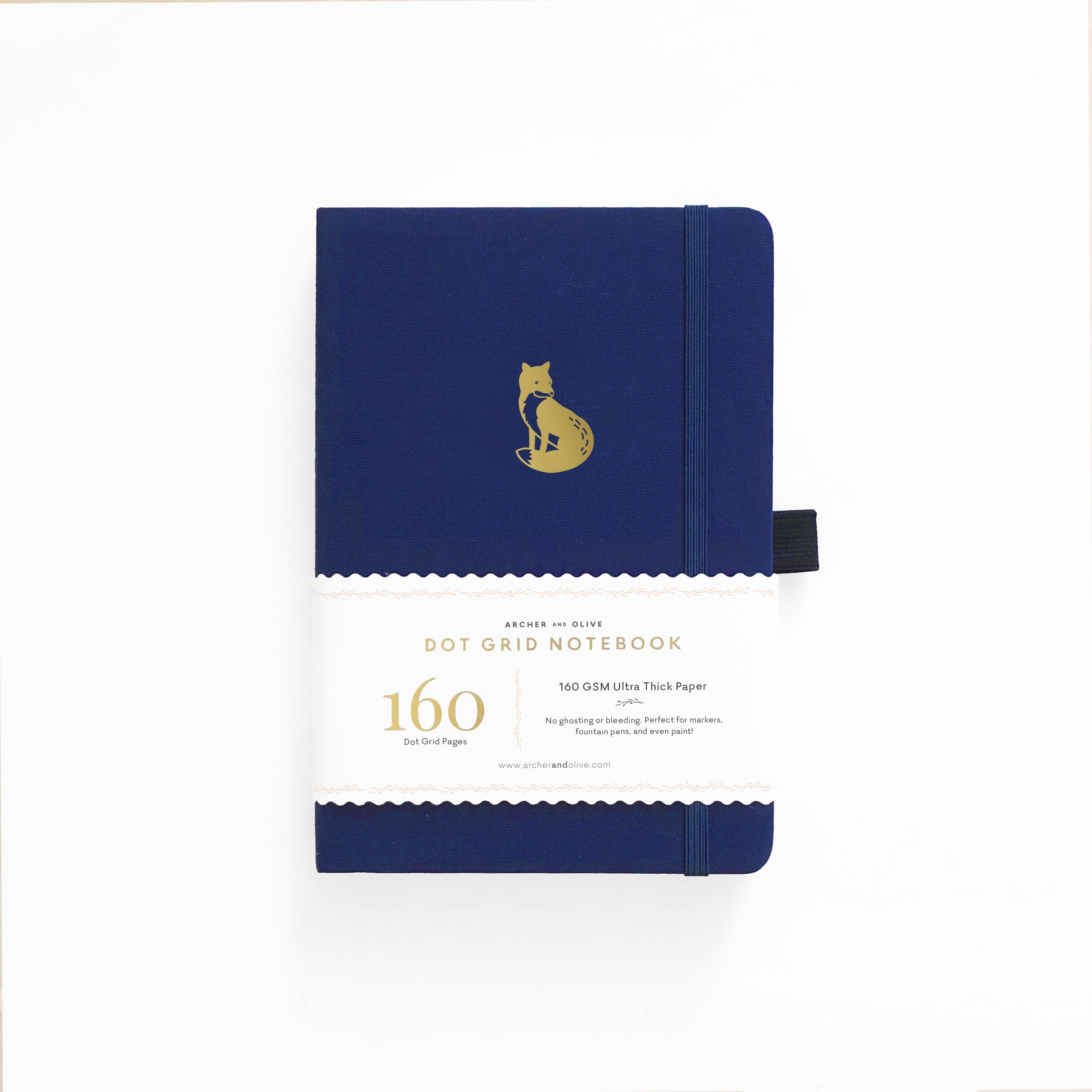 Archer & Olive - A5 Notebook - Clever Fox