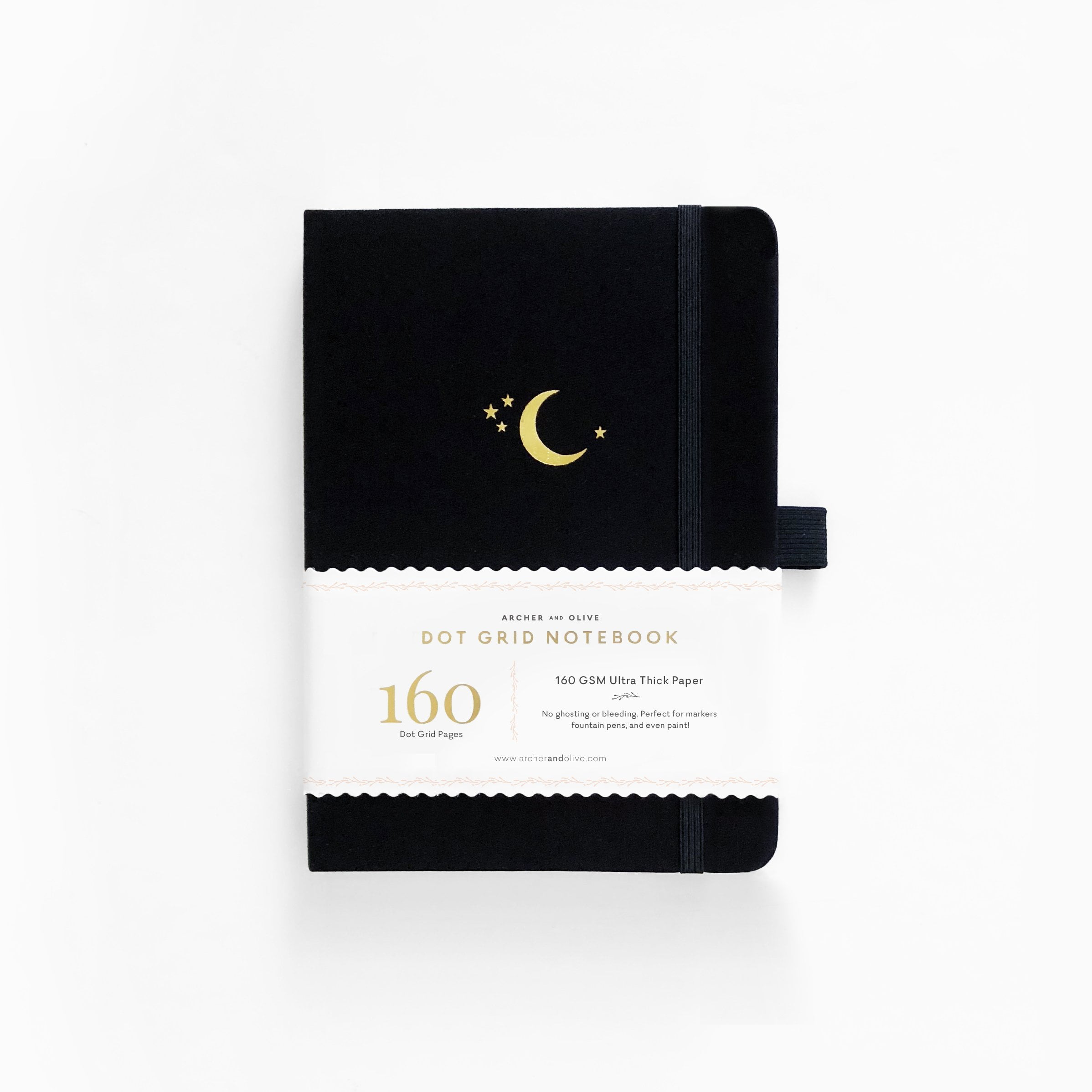 Archer & Olive - B5 Notebook - Crescent Moon