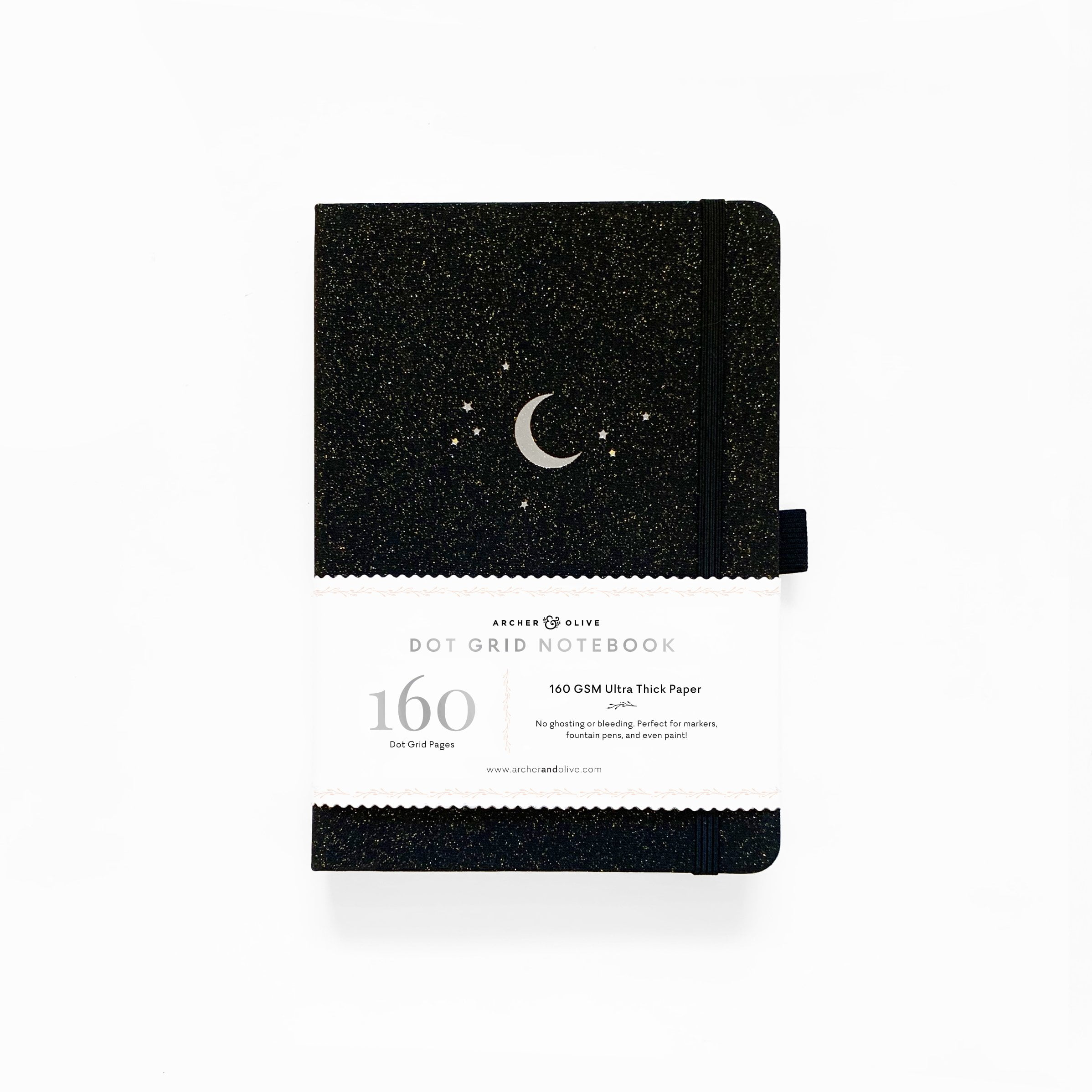 Archer & Olive - A5 Notebook - Forest Night