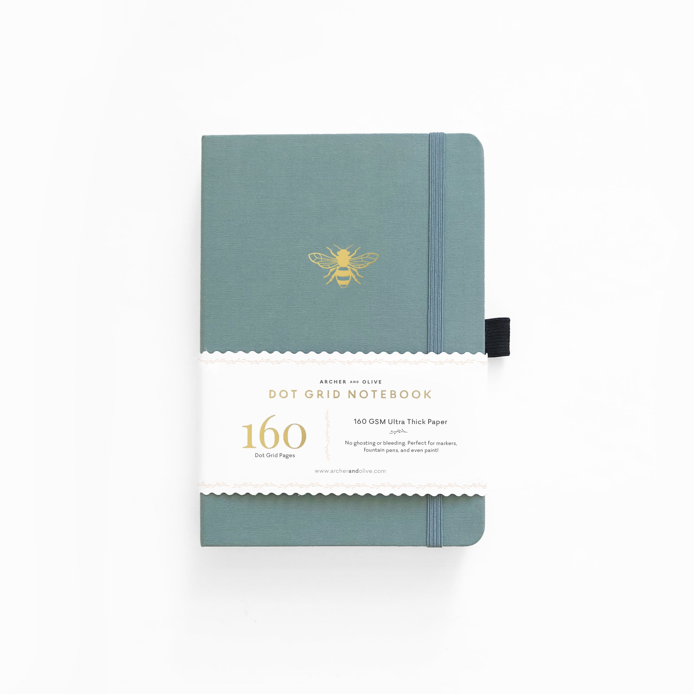 Archer & Olive - A5 Notebook - Vintage Bee