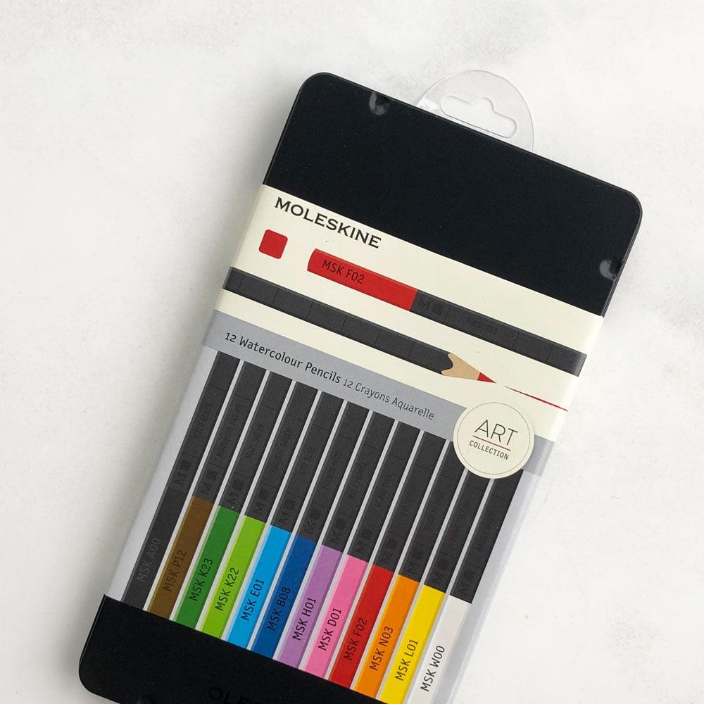 Moleskine watercolour pencils - 12 stk
